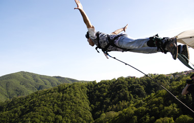 Oasi Zegna Bungee Jumping
